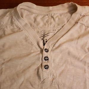 Affliction standard series V neck t shirt Med